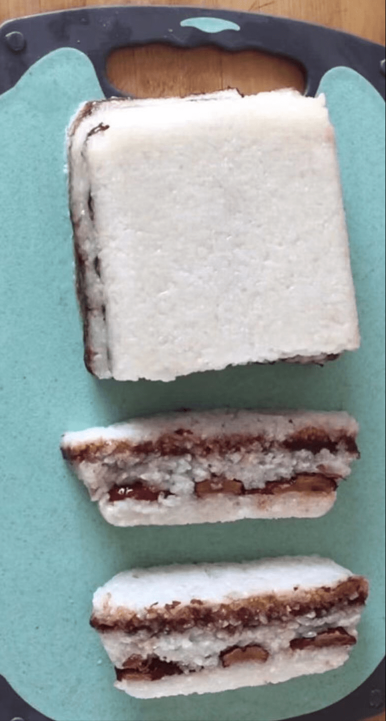 要过年了!糯米切糕,也是年夜饭上不可少的一道菜