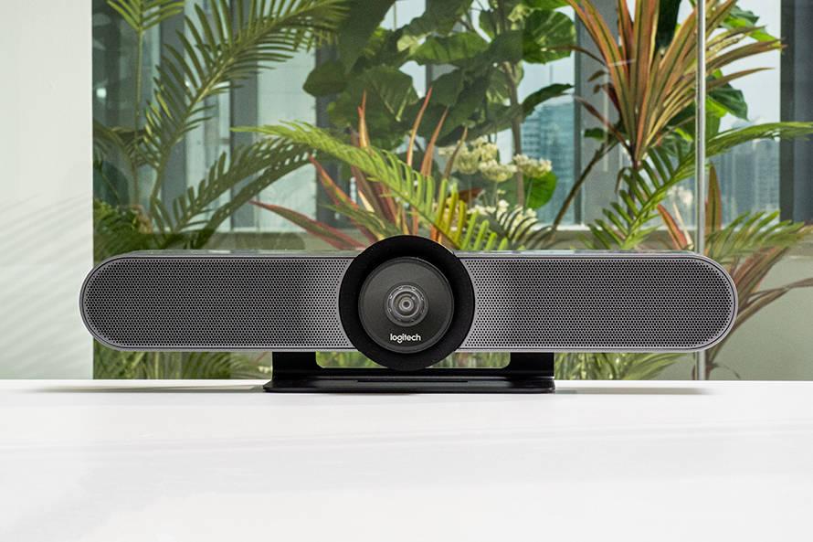 原创罗技CC4000e高清视频会议系统:即插即用视频会议新体验