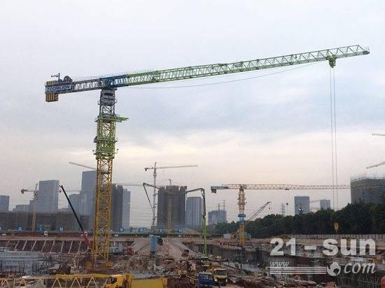 广州恒大足球场建设如火如荼 中联