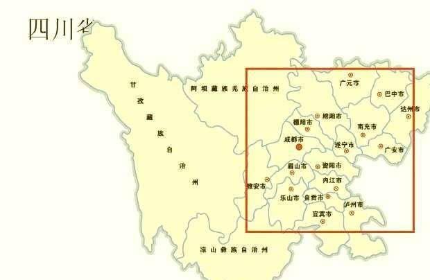 四川南充青姓总人口_四川的两座人口大城,南充以及达州,谁的发展潜力更强