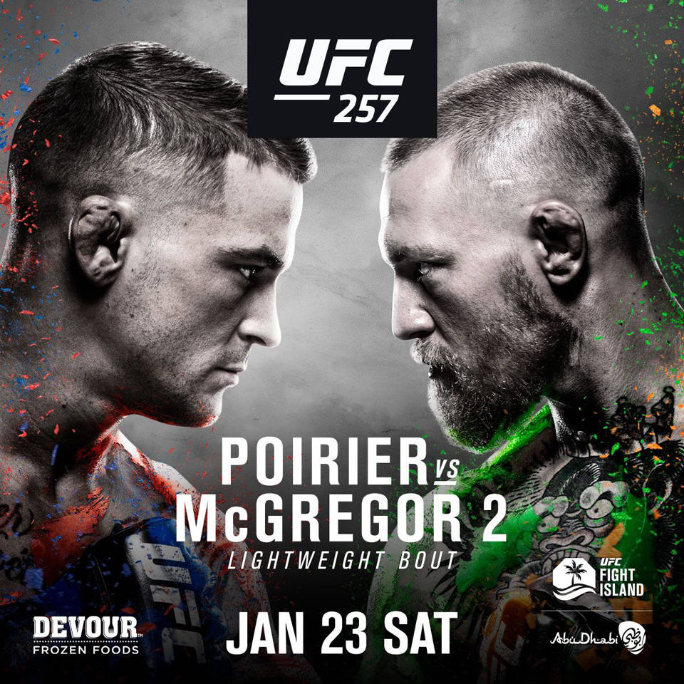 周末UFC迎来重磅对决 康纳将二次对阵普瓦里尔