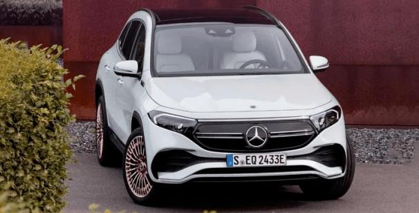 奔驰EQA亮相,紧凑级纯电SUV新选择