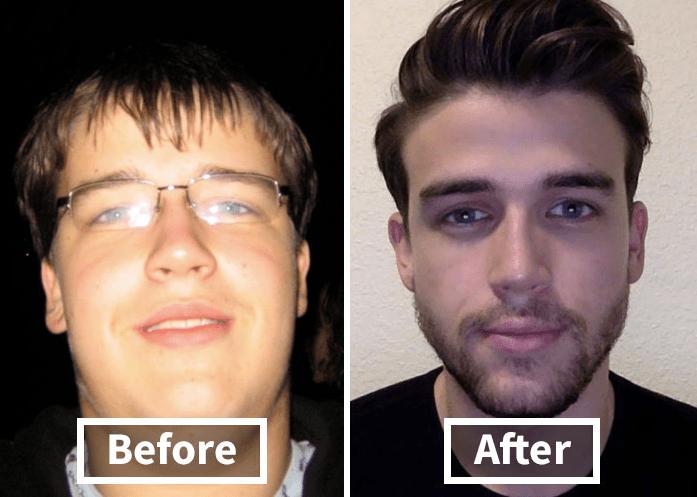 一胖毁所有!当胖子瘦下来后,颜值会变得多好看?