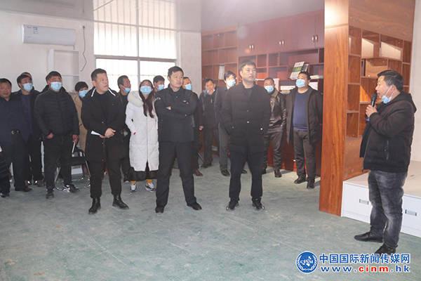 """河南:王孟镇开展2020年度""""逐村观摩、逐项过硬""""暨年终考核评比活动"""