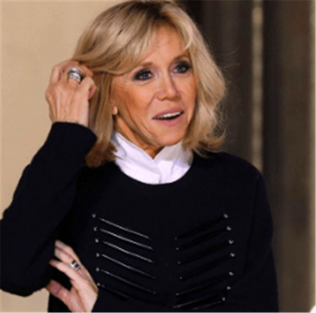 布丽吉特:我想入住爱丽舍宫,马克龙随即为她成为法国总统