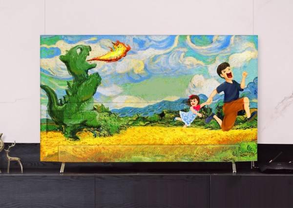 家长为幼儿园作业有多拼?全屋家电涂成油画艺术品
