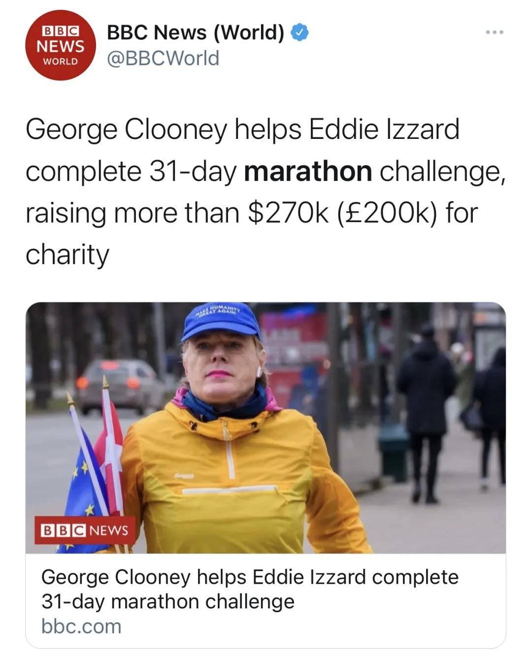 一位58岁的非职业运动员 31天跑了31场马拉松_Eddie