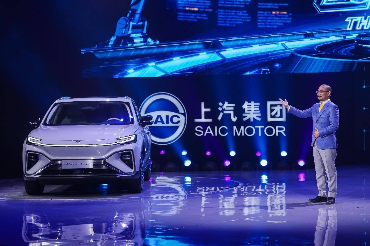 国内首款5G认证车型上市,上汽MARVEL R售价21.98万元起_新车