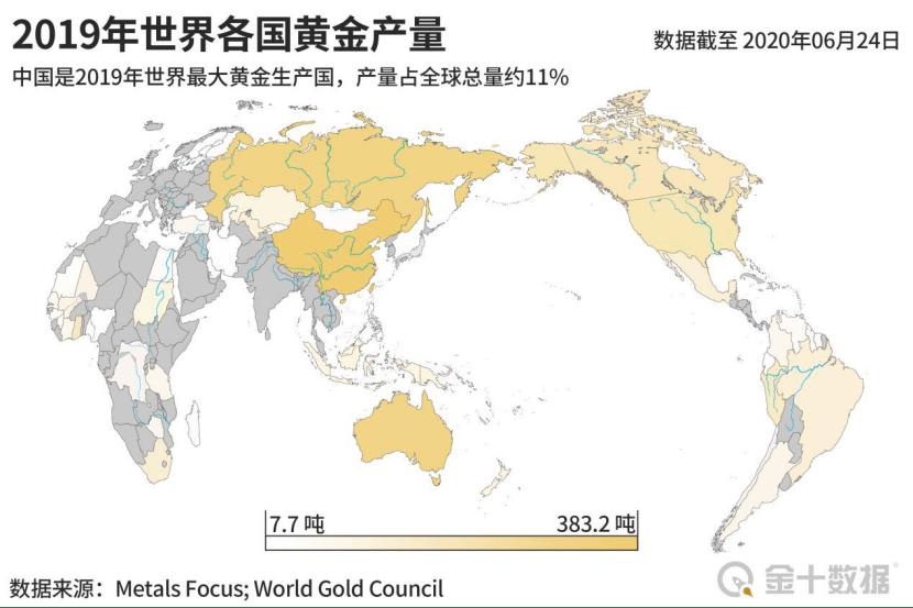 原2020年全球央行黄金购买量下降近60%!1250吨黄金运出美国,600吨黄金运出中国。