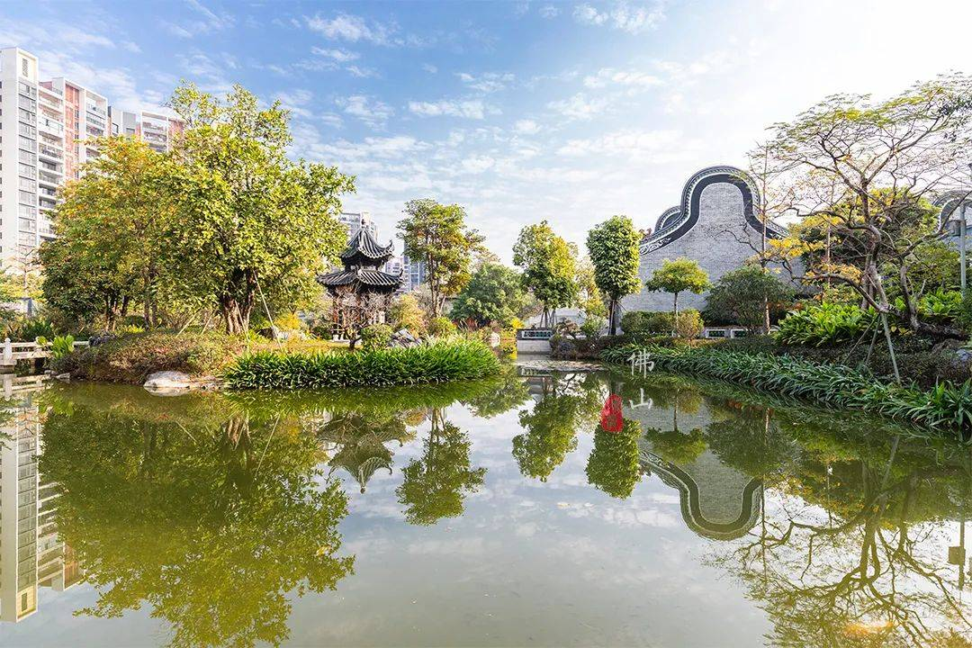 原创             美的集团耗资3个亿,建了一座绝美的岭南园林,竟无偿捐献给社会