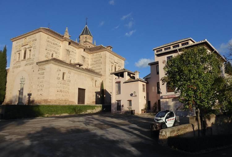 西班牙格拉纳达 世界文化遗产阿尔罕布拉皇宫 人少景美