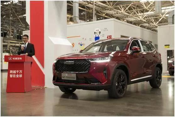 1月份SUV销量前十出炉,自主品牌4席销占比51.8%