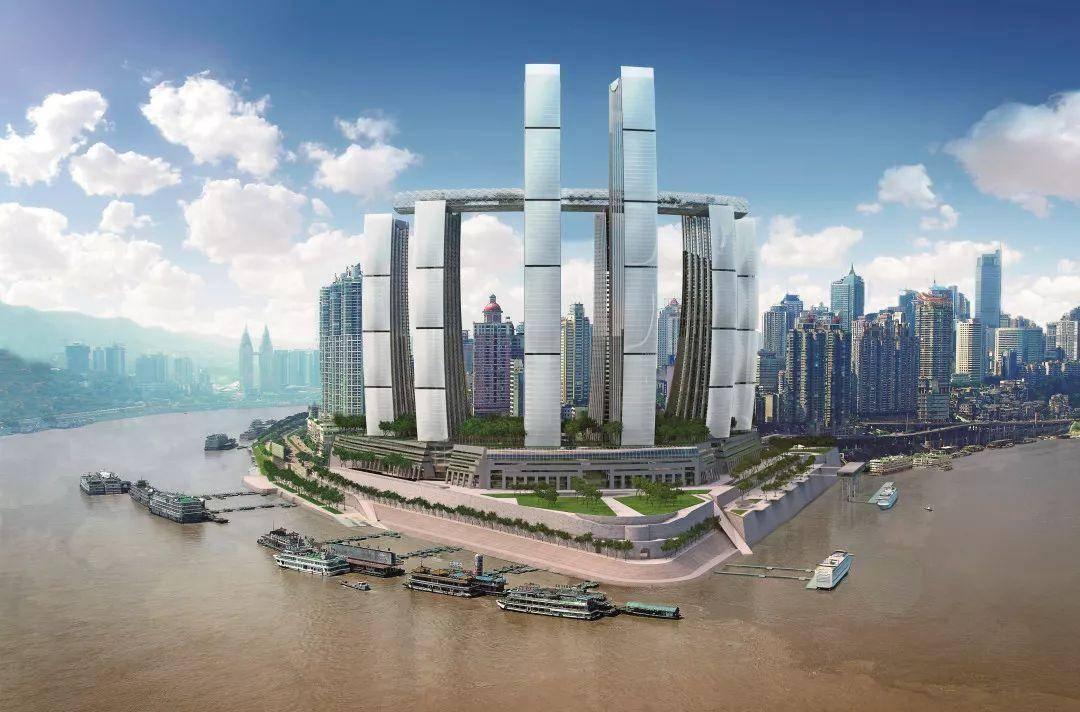 """重庆已经""""逆袭""""的地标建筑,曾因造型被吐槽,如今成火热打卡地"""