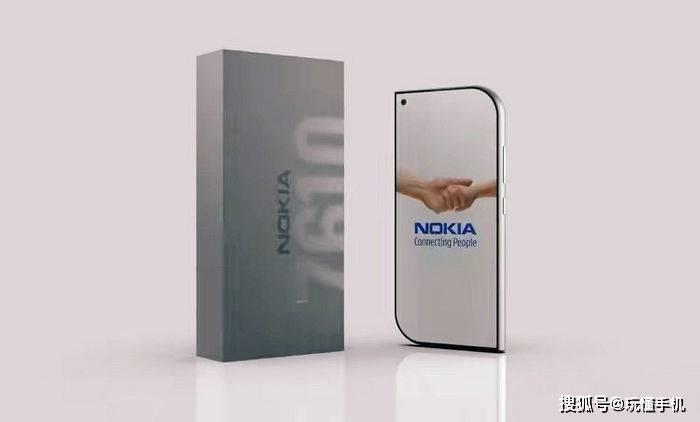 原创             诺基亚Nokia 7610复刻版概念渲染图曝光:经典设计或将回归