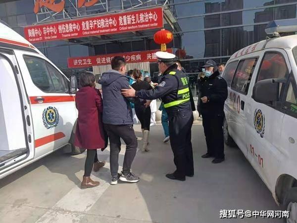 两岁幼童误食老鼠药,虞城两个中队交警接力护送就医,幼童转危为安