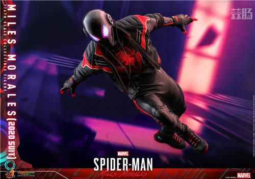 《漫威蜘蛛侠:迈尔斯》迈尔斯•莫拉莱斯1:6比例珍藏人偶