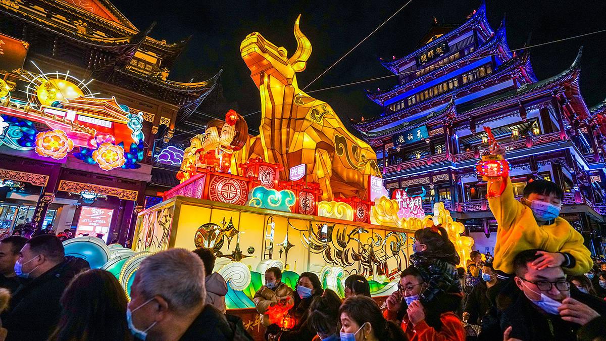 原创             还有一周,上海豫园灯会就要晚上封城收门票,免费观灯时间已不多