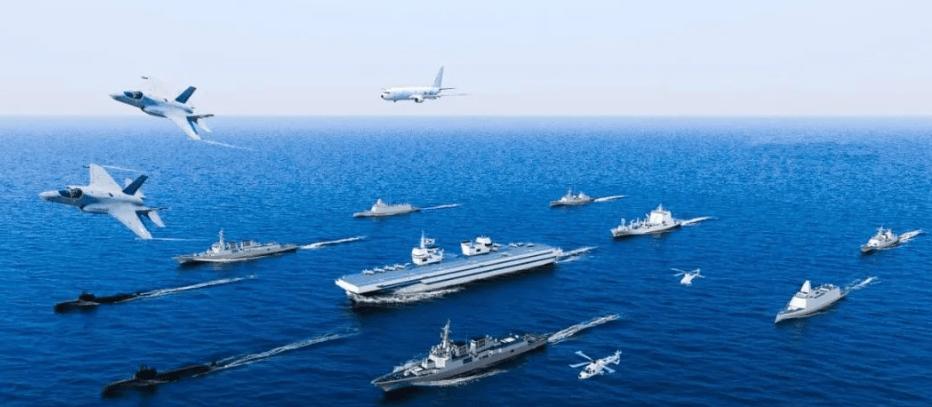 仅F-35B就搭载30架,还叫大型运输舰?韩国新航母看来相当不一般
