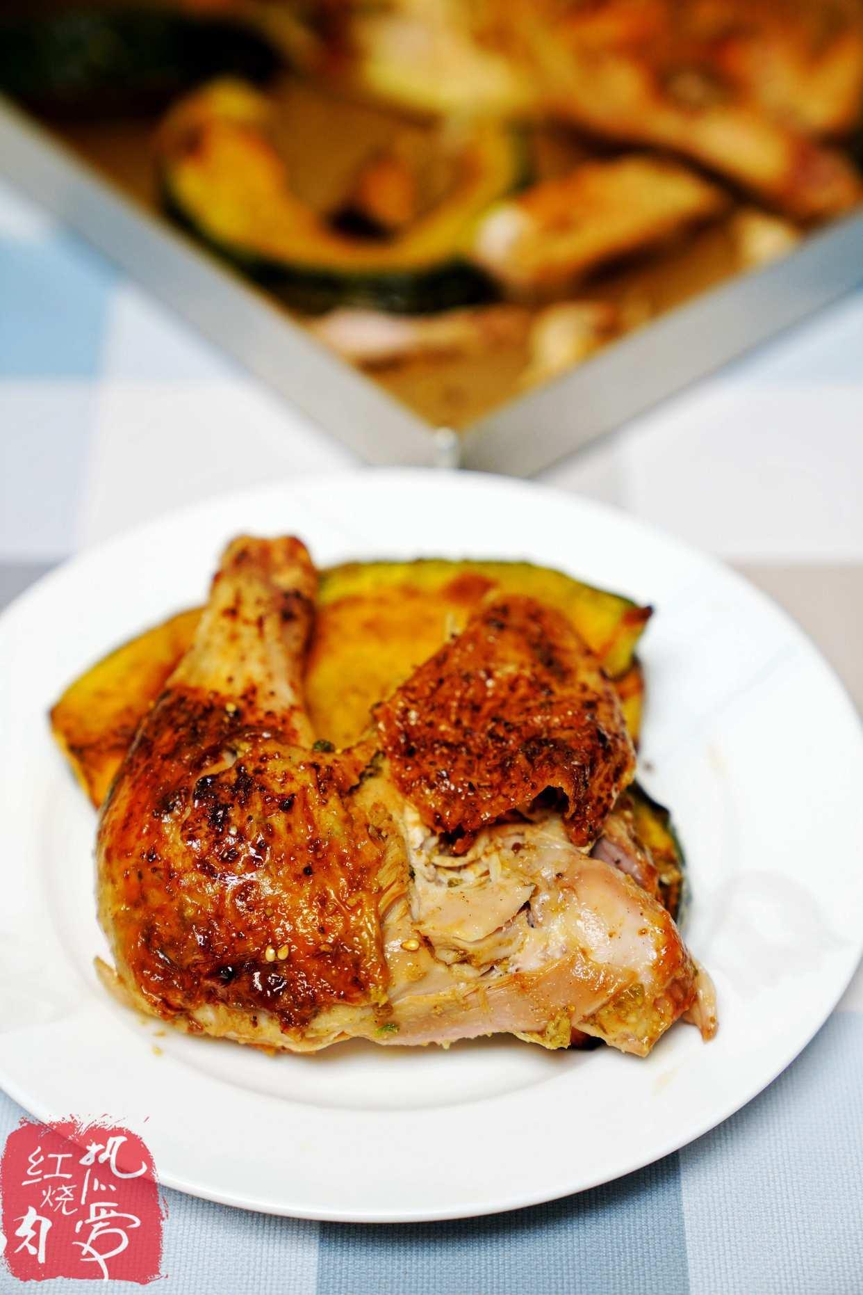 想吃烤鸡别去买了,在家做这样腌,皮脆肉嫩汁水多一点儿也不柴