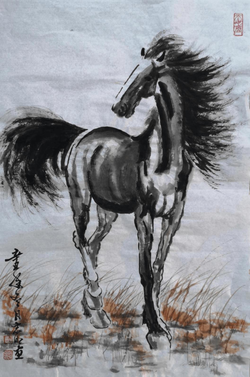 中国著名画家司志明画伟人获全国画界称赞,单幅被拍出65万