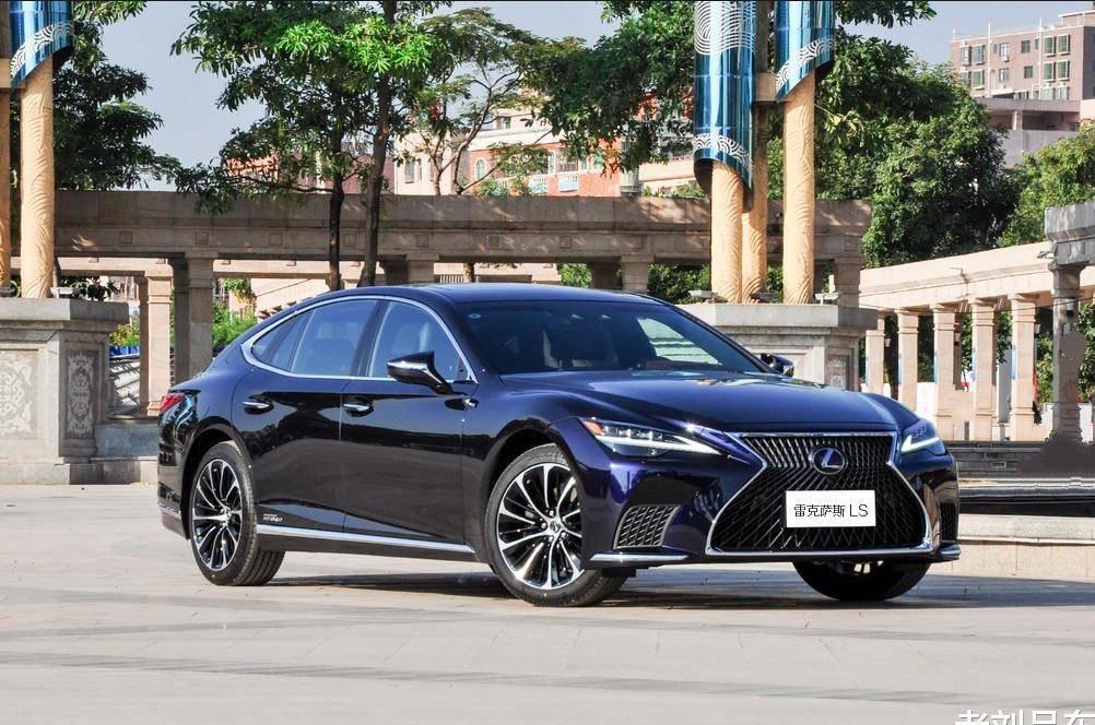 原装百万级新款雷克萨斯LS500h凌厉美观,是东方豪车的典范