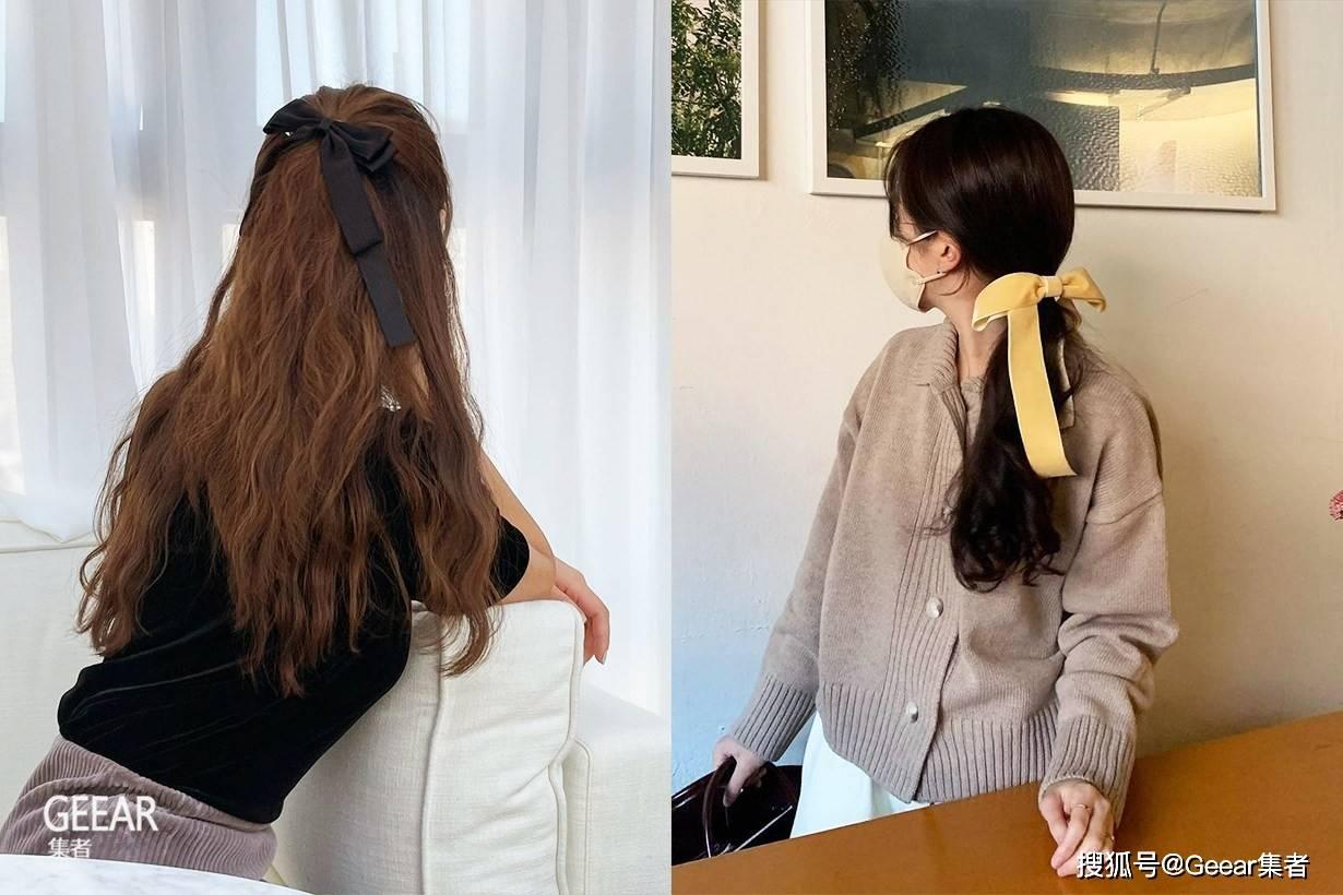 原创             这一季想打造可爱复古味道兼备的发型,就少不了这发饰单品!