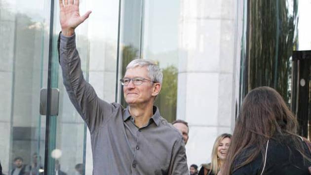 苹果股东大会:库克在任期间回报率达到867%。股东批准了薪酬奖励计划