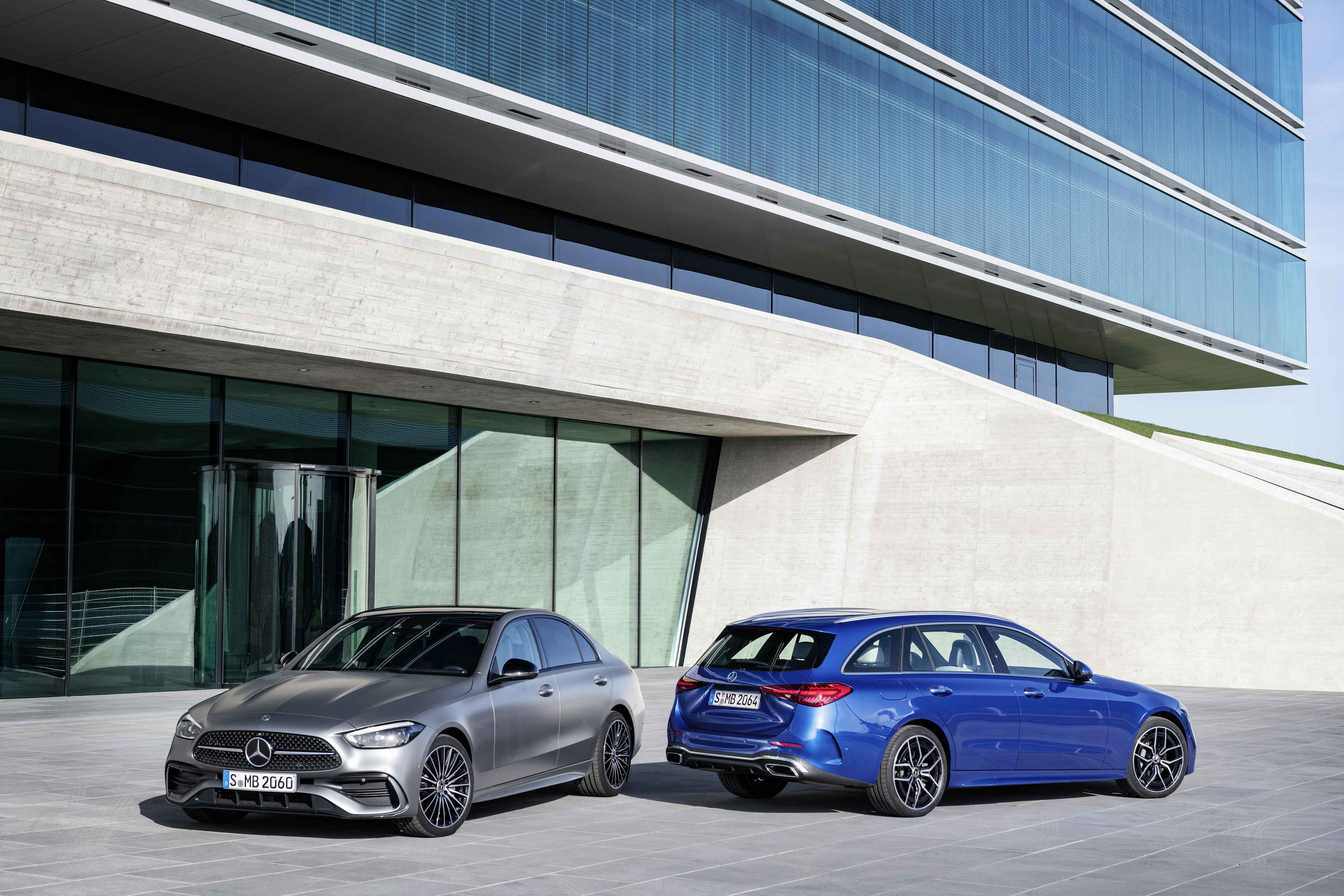 新奔驰c级车型发布,实现整个系统的电气化驱动