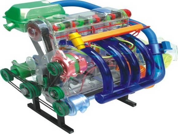 桑塔纳零部件透明教学模式与汽车透明教学模式