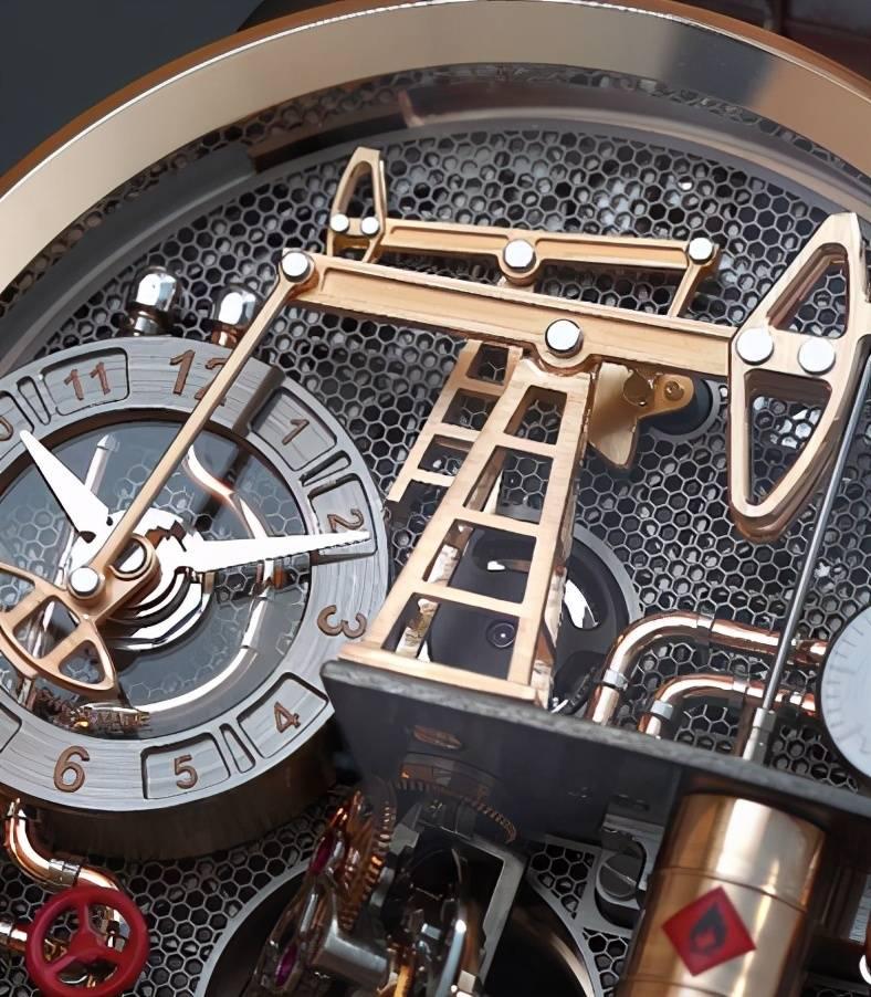Jacob & Co.杰克宝The Oil Pump油泵系列及The Pioneer开拓者系列