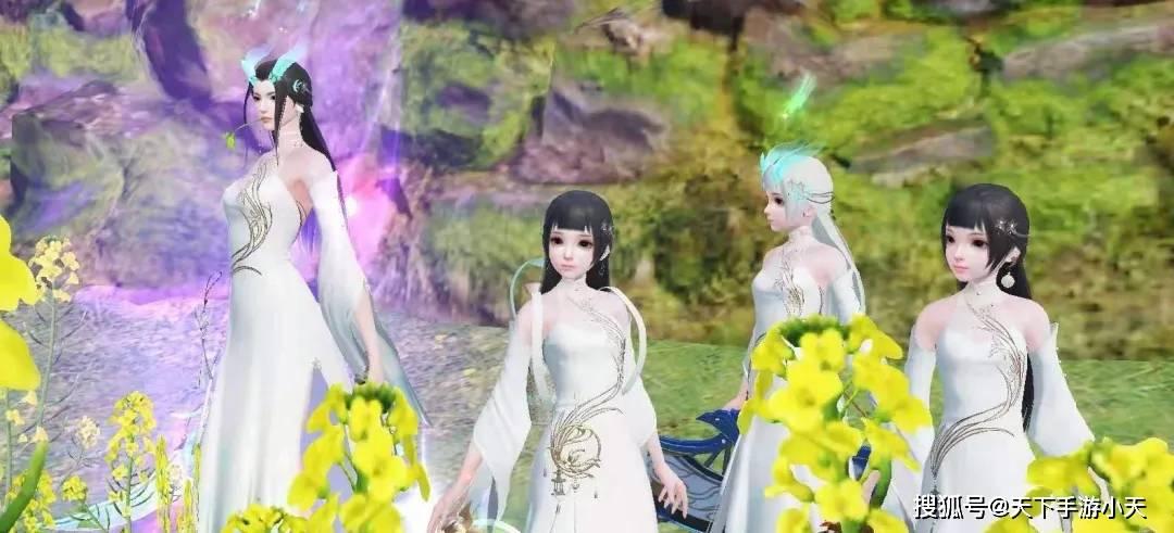 跟随这四位仙女,开启一场愉快的春游之旅吧~