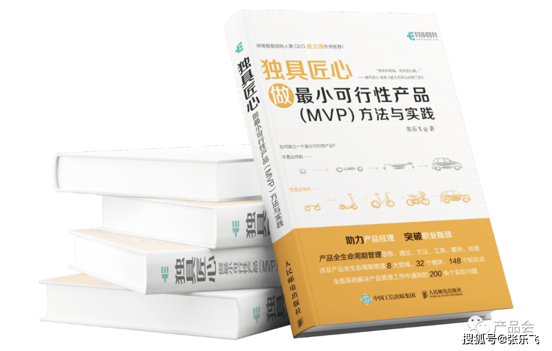 做最小可行性产品(MVP)方法与实践,与MVP同行!