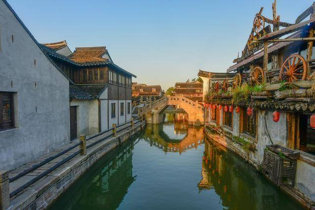 浙江西塘古镇,一座活着的千年古镇,典型的江南水乡