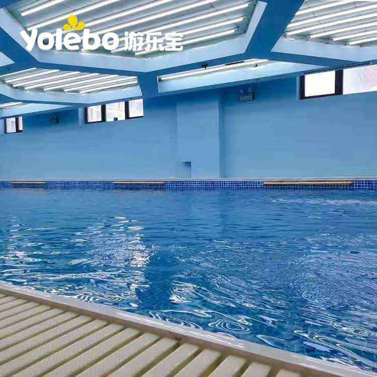 宝宝游泳池厂家解答为何要让孩子学会游泳和自救
