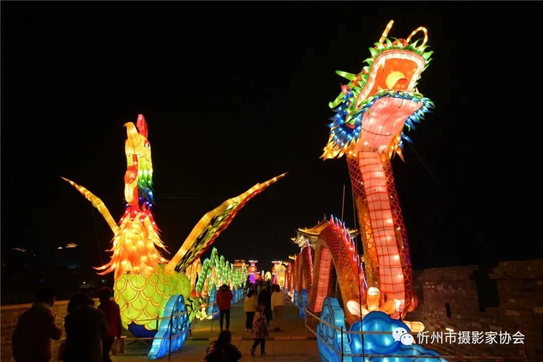 【行摄天下】:忻州古城墙首届花灯会