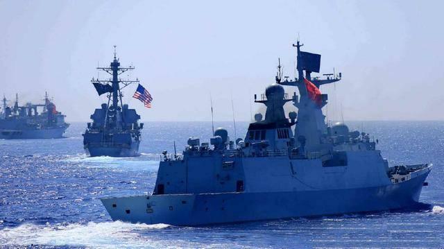德国也来凑热闹!英法德舰齐聚南海,真为响应美国的号召?