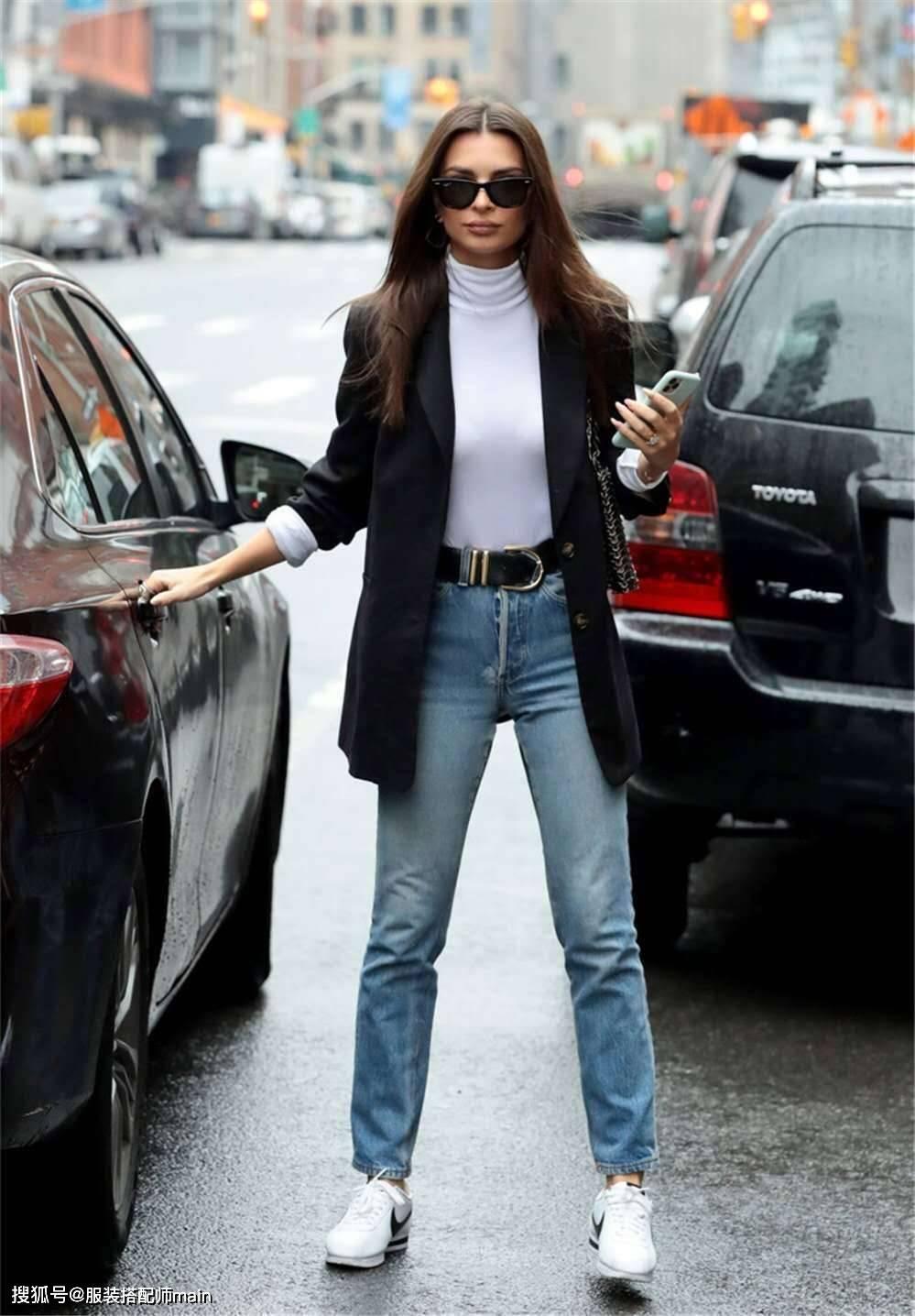 个子矮、小肚腩、腿短、臀宽、微胖,直筒牛仔裤通通帮你解决