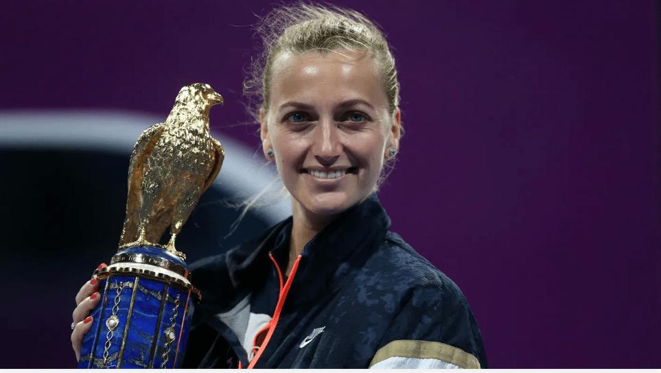 多哈赛:科维托娃2-0完胜穆古鲁扎 破两年冠军荒
