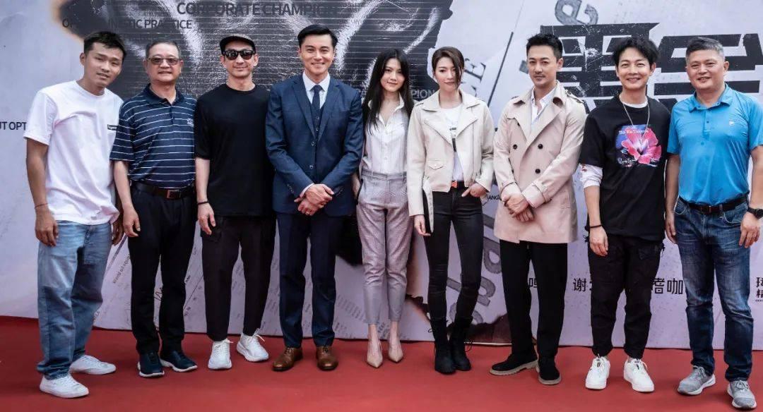 林峯新剧《黑金风暴》官宣,阵容比想象中豪华,但不是TVB出品!