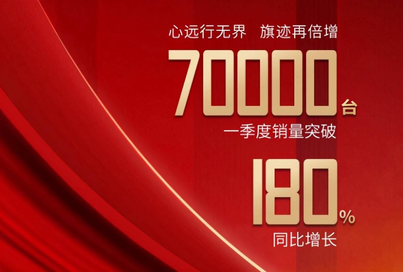 原七大品牌宣布一季度销量,红旗破7万,一汽丰田目标达成率107%