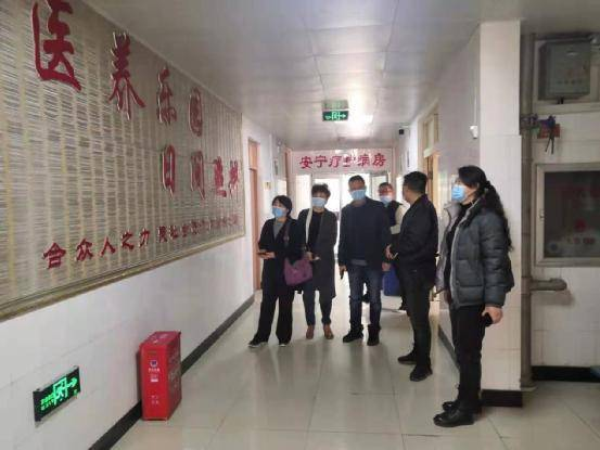 民盟安阳市委会赴洹园南社区调研社区服务实践基地