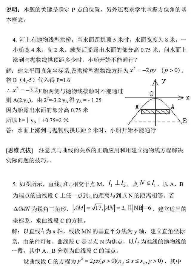 图片[5]-高中数学最经典50题-小e英语课堂