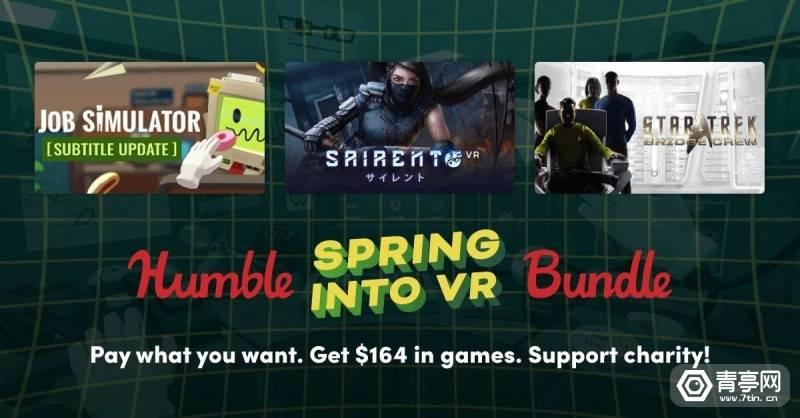 原创             Humble Bundle春季VR游戏捆绑包来袭,8大热门款仅需15美元