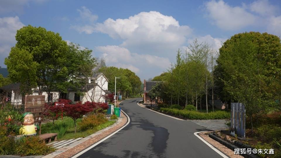 溧阳有座景中村,这样美的乡村,简直像画一样!