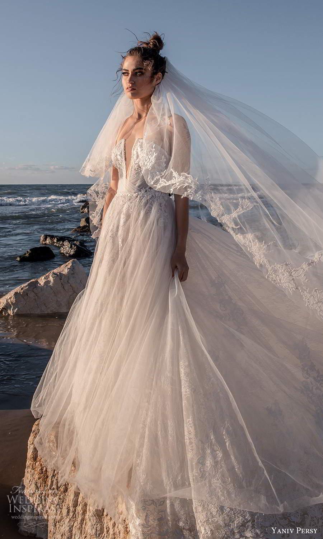 """by Yaniv Persy 2021""""Waves"""" 婚纱系列 优雅与浪漫交织在一起"""