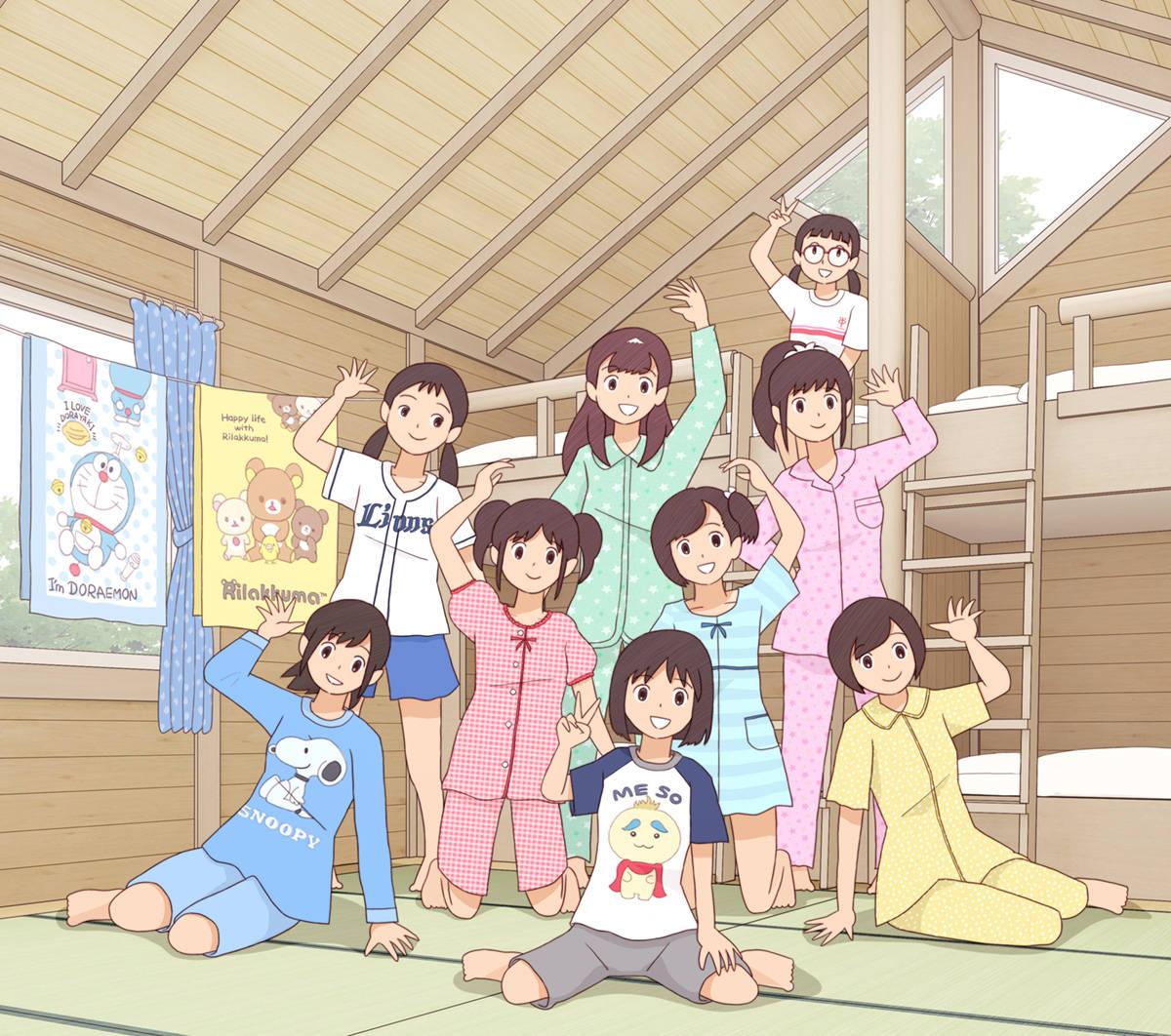"""日本画师笔下的""""青春期""""热评却是:太日本了!高中生才不这样插图"""