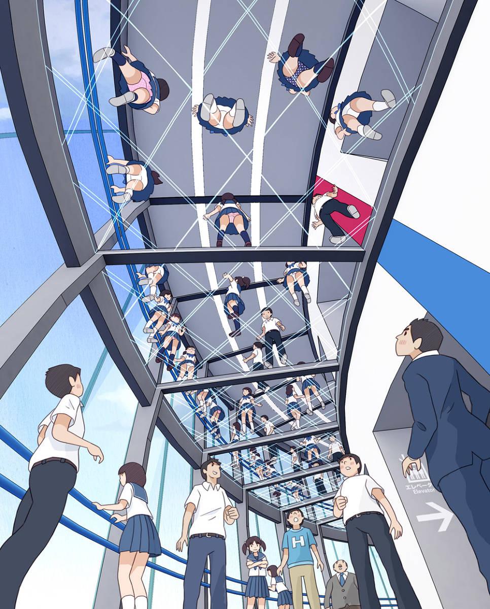 """日本画师笔下的""""青春期""""热评却是:太日本了!高中生才不这样插图4"""