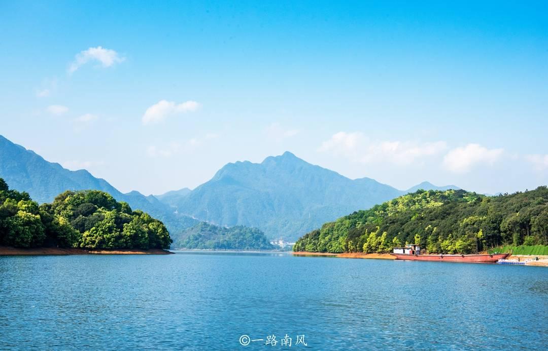 """原创             江西九江版千岛湖,面积是杭州西湖的54.4倍,美似""""马尔代夫"""""""