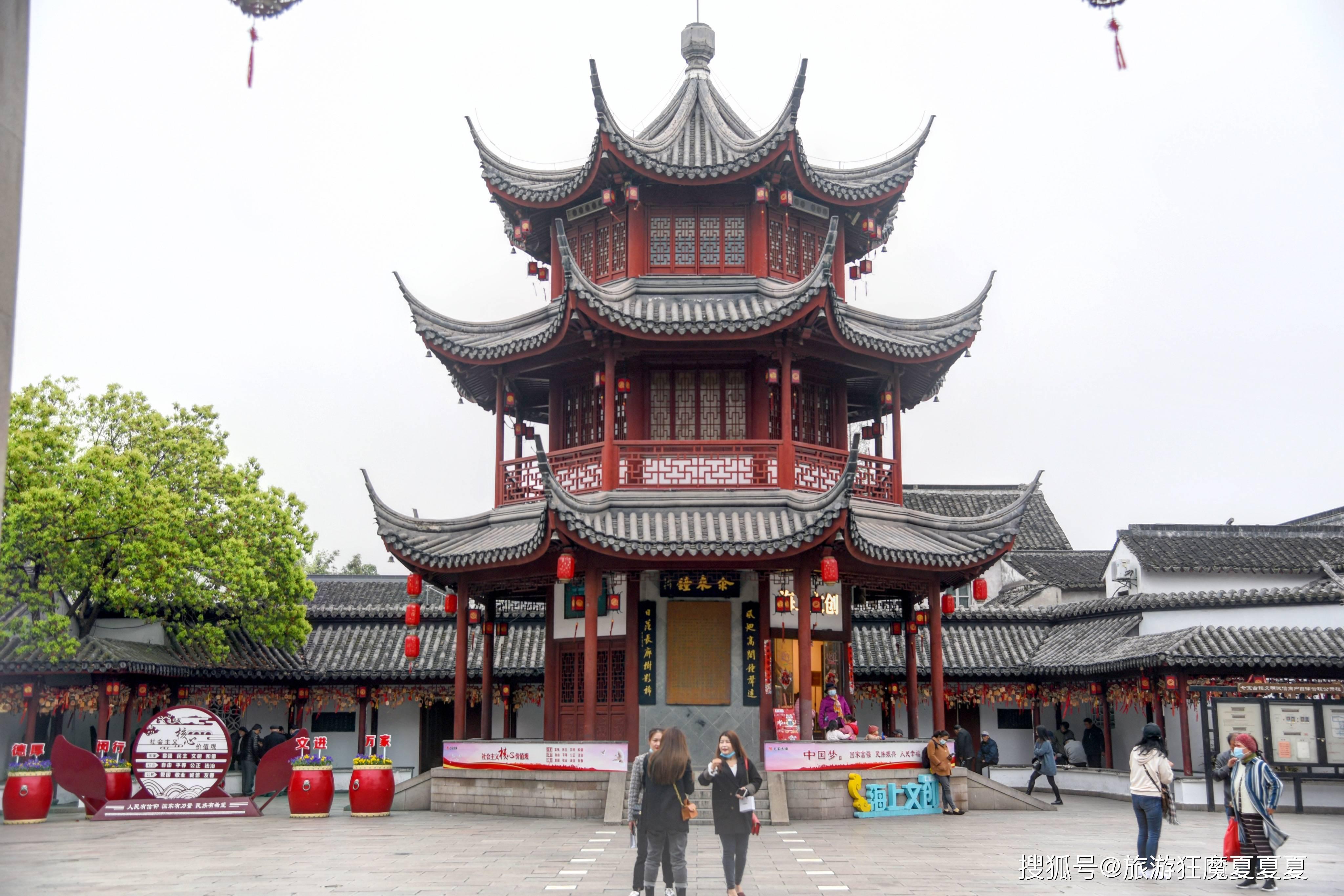 上海竟有景区只支持现金,历史悠久可追溯到晋朝,现已成恋爱胜地