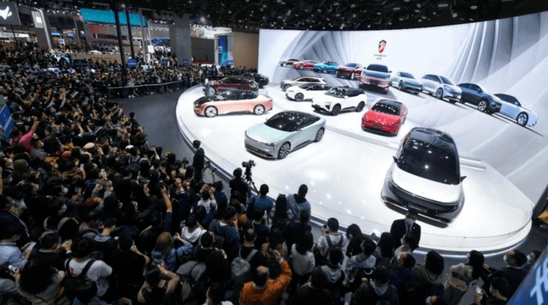 上海车展   恒驰9款新车亮相,规模空前!预计明年大规模交付